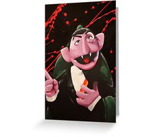 The Bloody Count Greeting Card