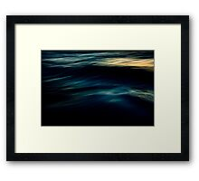 The Uniqueness of Waves IV Framed Print