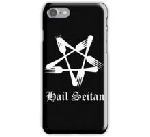 Hail Seitan iPhone Case/Skin