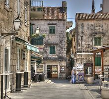On a hot summer day ... in Makarska by Thea 65