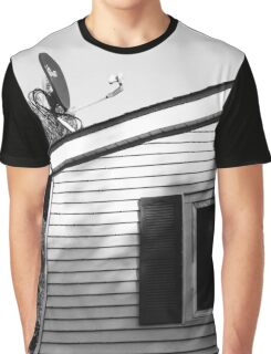 Top of a House Graphic T-Shirt