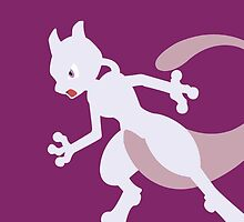 Mewtwo- Legendary Pokemon by TomsTops