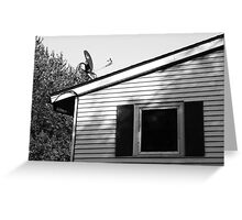 Top of a House Greeting Card