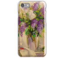 A bouquet of lilacs iPhone Case/Skin
