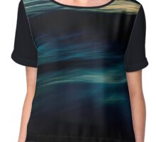 The Uniqueness of Waves IV Chiffon Top
