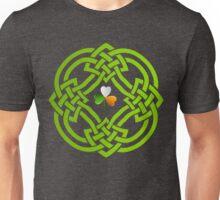 Celtic Knot and Irish Shamrock Unisex T-Shirt