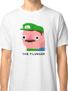 The Plunger (black text) Classic T-Shirt