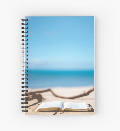 Book on Seashore Spiral Notebook