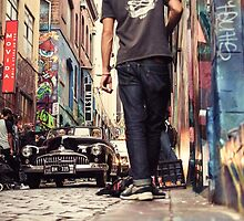 Hosier Lane, Melbourne by jamespaullondon