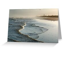 Early Morning Lagoon Beach, Cape Town Greeting Card