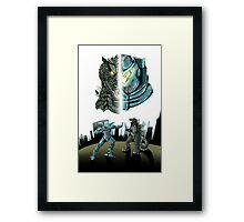 Godzilla X Gipsy Danger Framed Print