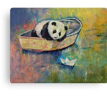 Paper Boat Canvas Print