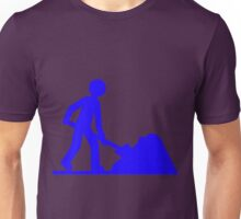 Blue work Unisex T-Shirt