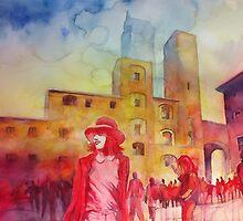 Pomeriggio in piazza by Alessandro Andreuccetti