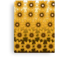 Flower Frenzy Canvas Print