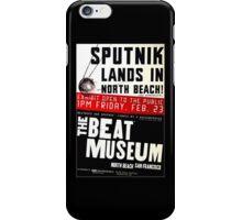 Sputnik Beat Poster iPhone Case/Skin