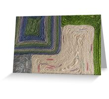Unraveled Greeting Card