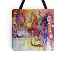 By the street Tote Bag