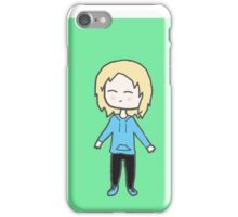 Alice Chibi with green background iPhone Case/Skin