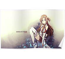 Sword Art Online Asuna Poster, Cover Poster