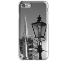 Lamp Post Outside the Minster iPhone Case/Skin