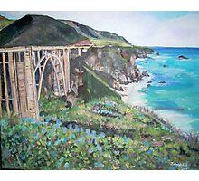 Bixby Creek Bridge, Big Sur Photographic Print