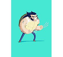 Heroes in a Half Shell: Wolverine Photographic Print