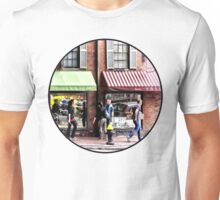 Boston MA - Street With Candy Store and Bakery Unisex T-Shirt