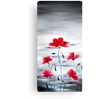 Wating for spring Canvas Print