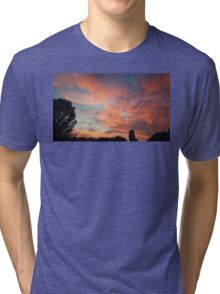 sunset sky Tri-blend T-Shirt