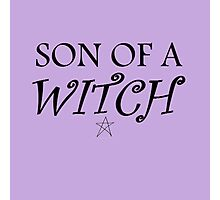 Son of a... witch Photographic Print