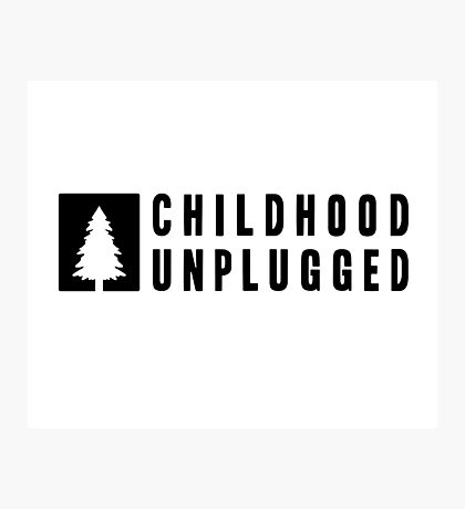 Childhood Unplugged Photographic Print