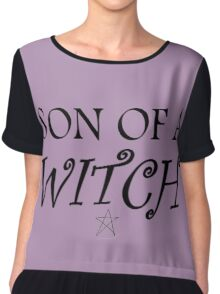 Son of a... witch Chiffon Top