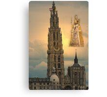 Onze Lieve Vrouwe Toren - Antwerp - Belgium Canvas Print