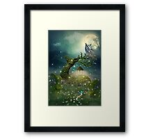 Keeper of the Enchanted - Spring Thaw Framed Print