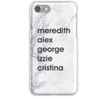 MAGIC - greys anatomy iPhone Case/Skin
