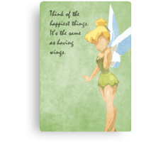 Peter Pan inspired design (Tinkerbell). Metal Print