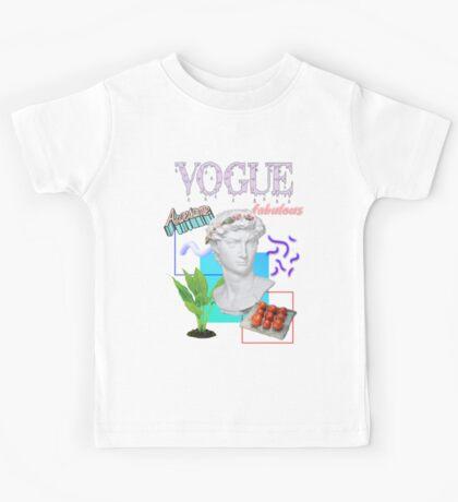Vogue Awesome Fabulous  Kids Tee