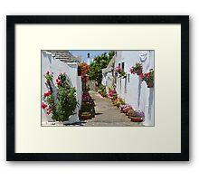 Alberobello - Apulia - Italy Framed Print