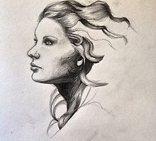 Taylor Swift Pencil Sketch by loisnash