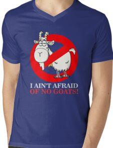 Bill Ain't Afraid of No Goats Mens V-Neck T-Shirt