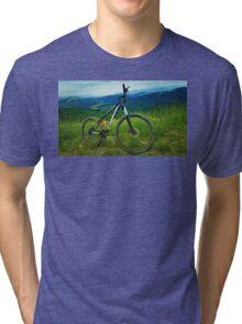 mount bike Tri-blend T-Shirt