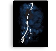 The Dark Raiden Rising Canvas Print