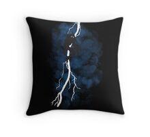 The Dark Raiden Rising Throw Pillow