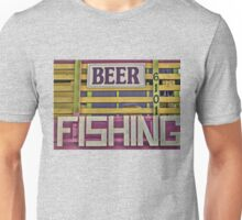 Beer and Fishing Unisex T-Shirt
