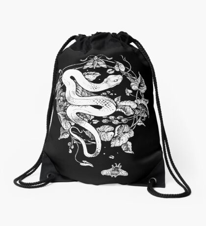 THE END OF THE SUMMER  Drawstring Bag