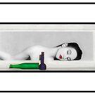 Day Dreaming Geisha - Self Portrait by Jaeda DeWalt