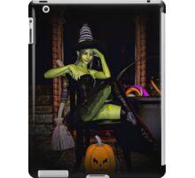 Green spells iPad Case/Skin