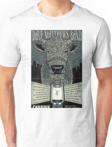 DMB Chicago IL Caravan Festival 2011 Unisex T-Shirt