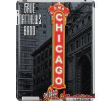 DMB Chicago IL Caravan Festival 2011 iPad Case/Skin